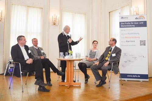 Podiumsdiskussion des Zukunftsforum 2017 mit Armin Güntner