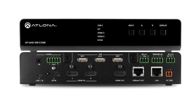 Atlona AT-UHD-SW-510W Multiformat Switcher