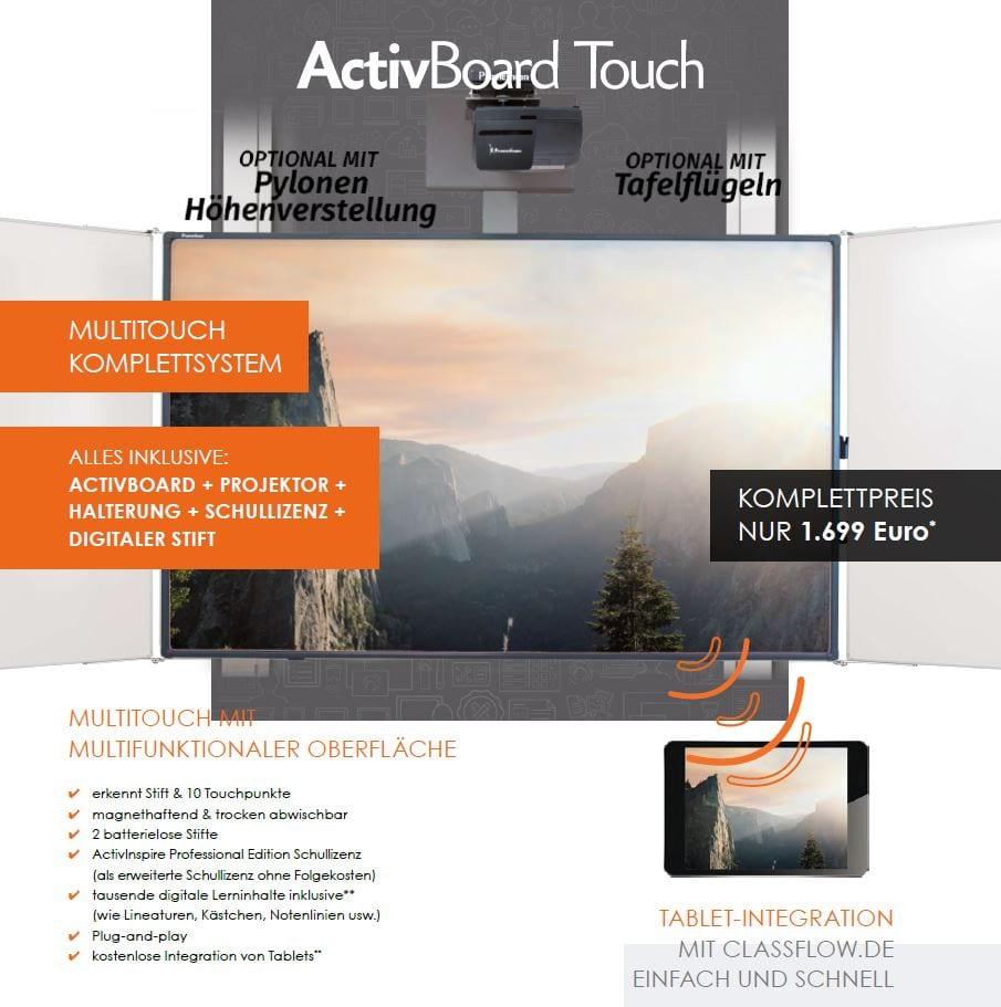 Aktion interaktives Whiteboard