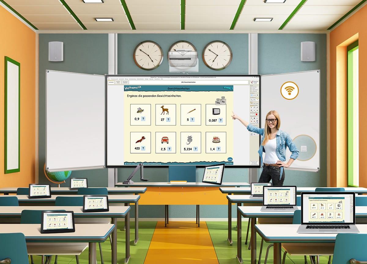 Digitales Klassenzimmer