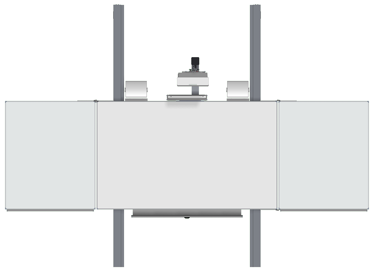 Pylonen-Höhenverstellung -fest inkl. Beamer