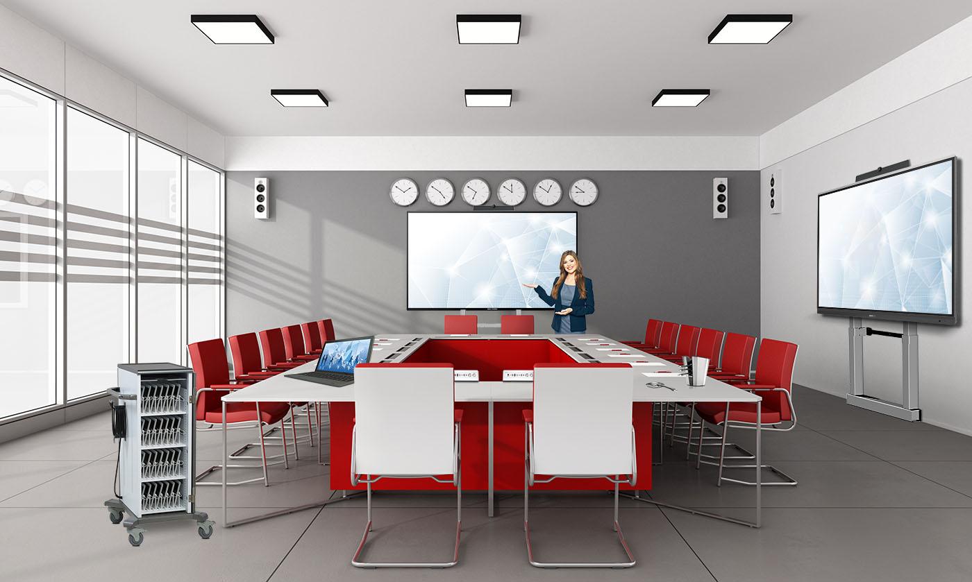 Moderner Besprechungsraum